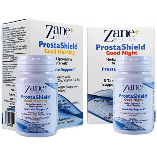 PROSTASHIELD COMPLETE / Extra Strength Natural Prostate Kit. 120 Softgels