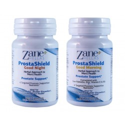 PROSTASHIELD COMPLETE / Extra Strength Natural Prostate Kit. 120 Softgels