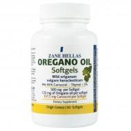 Greek Oregano Oil - 60 Softgels, 86% Carvacrol